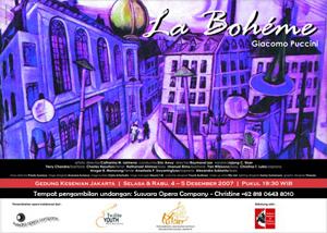 Susvara's La Bohéme poster