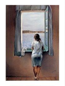 Person at the window-Dali