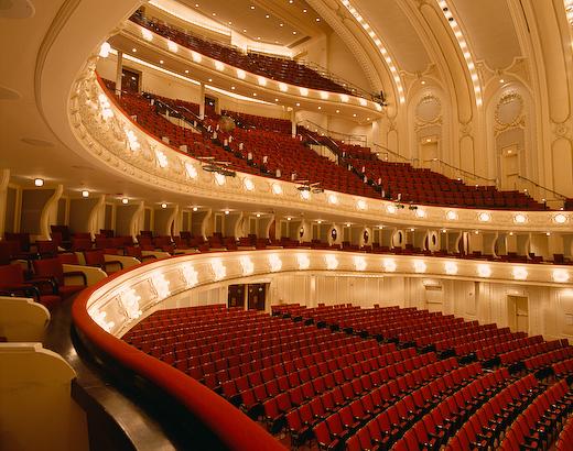 Chicago Symphony Hall | a
