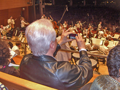 watching orch from choral terrace