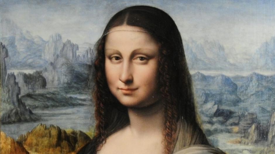 Replika Mona Lisa yang mirip tapi tidak sama