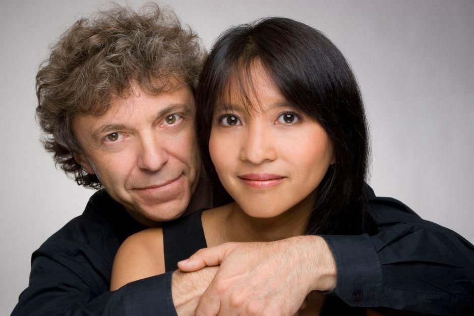 Pascal dan Ami Rogé (dari musicvinearts.com)