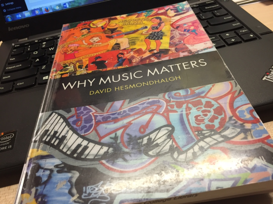 why music matters hesmondhalgh