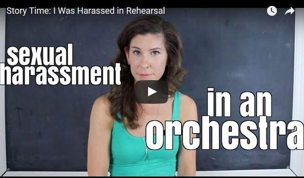 harrassment in orchestra lauren pierce