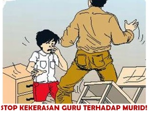 kekerasan guru