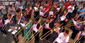 Trombone terbanyak